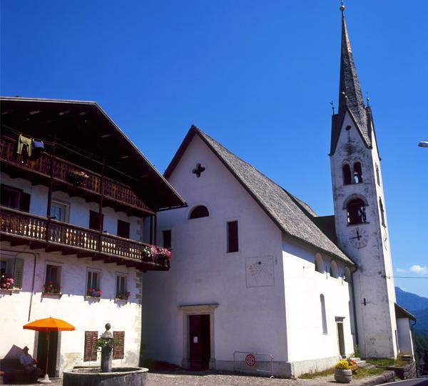 Chiesa di San Sebastiano di Falcade Alto