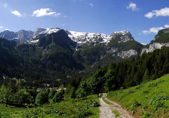 """Percorso escursionistico """"La Via Tilman"""""""